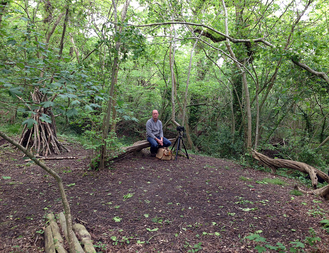 Tim in Woods